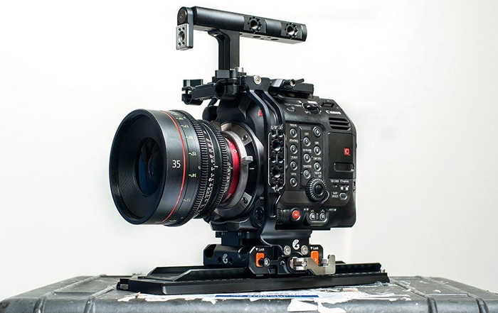 Canon EOS C500 Mark II Left Field Cage