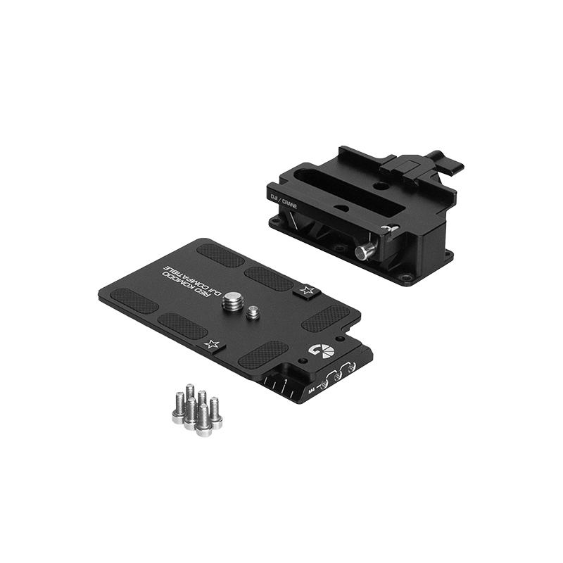 B4002 0019 RED Komodo DJI Zhiyun Riser 15mm Baseplate Kit 01 web