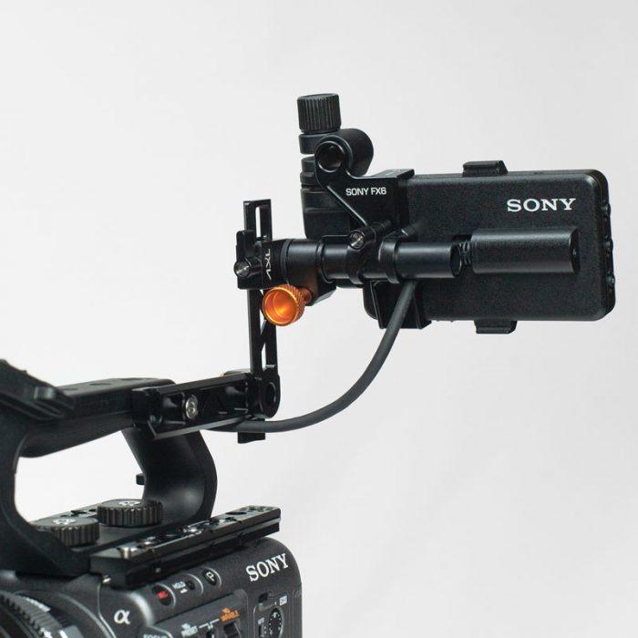 Sony FX6 Mini Axl Rear Mounted web
